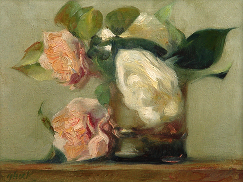 Camellias by Larry Gluck